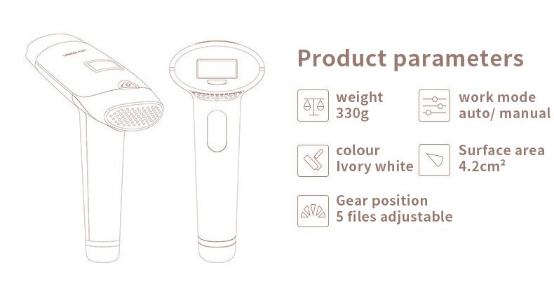 3in1 700000 pulsed IPL Laser Hair Removal Device Permanent Hair Removal IPL laser Epilator Armpit Hair Removal machine 17
