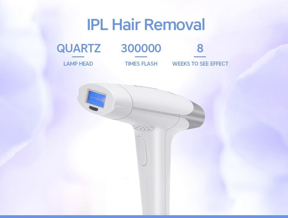 Droshipping 2in1 IPL Laser Hair Removal Machine Laser Epilator Hair Removal Permanent Bikini Trimmer Electric depilador a laser 9