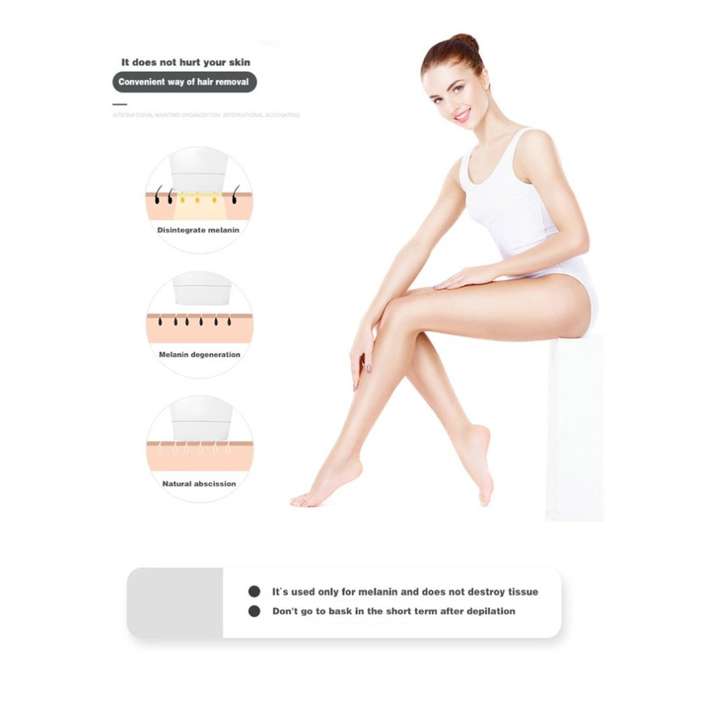 LESCOLTON Depilator 2in1 IPL Laser Hair Removal Machine Laser Epilator Hair Removal Permanent Bikini Trimmer Electric Laser 7