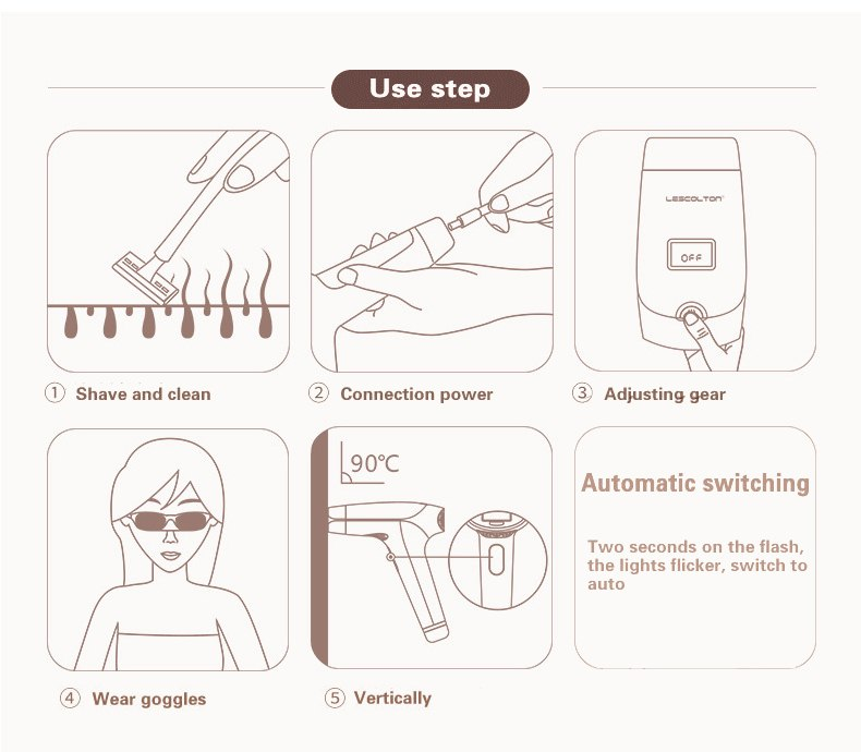 3in1 700000 pulsed IPL Laser Hair Removal Device Permanent Hair Removal IPL laser Epilator Armpit Hair Removal machine 15