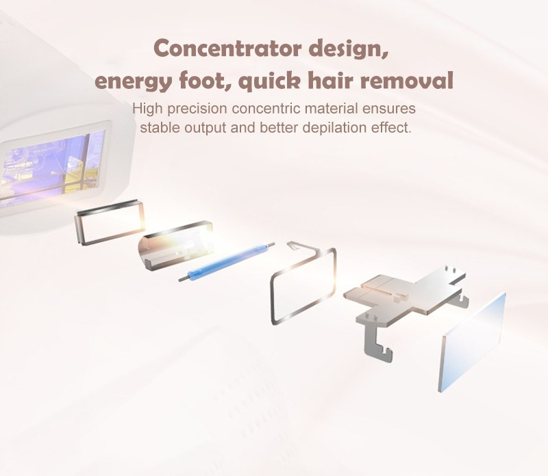 MLAY IPL Laser Hair Removal Machine Permanent Painless Women Hair Remover Epilator For Face Body Armpit Bikini Home Use Device 17