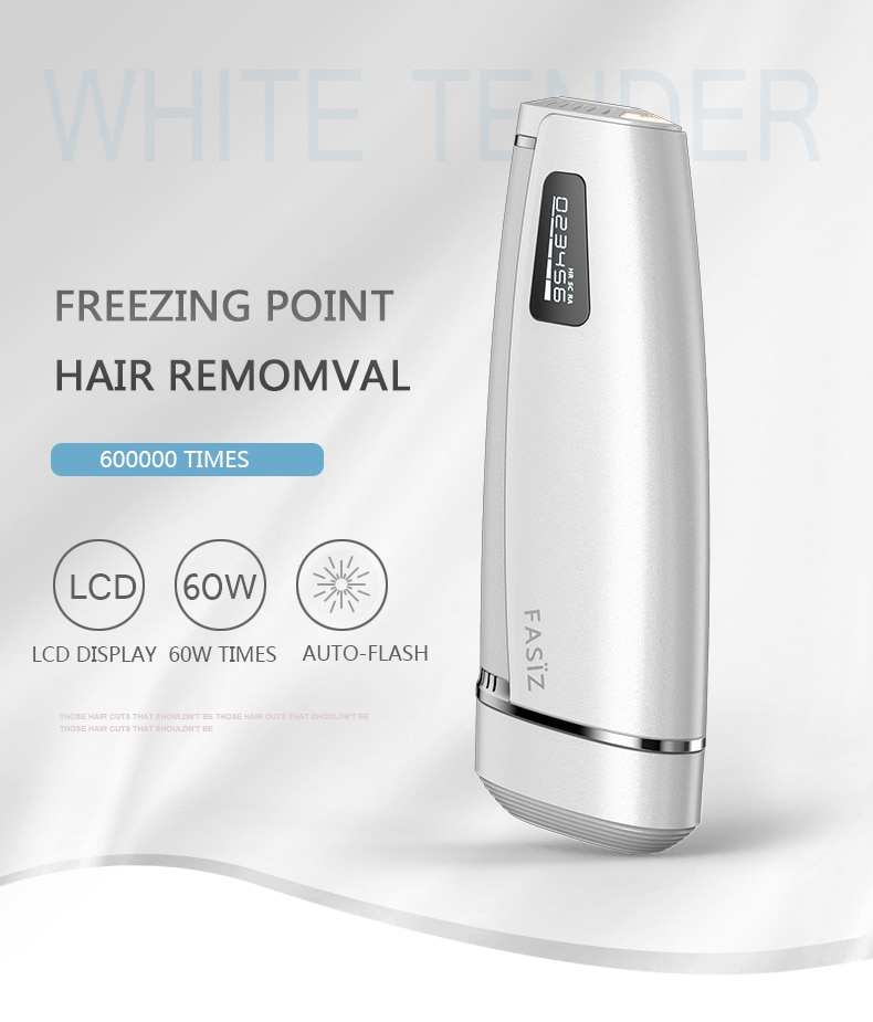 600000 Flash Permanent IPL Laser Hair Removal Machine Epilator 2 in 1 Women Lady Depilator Electric Shaver Body Hair Remover 1