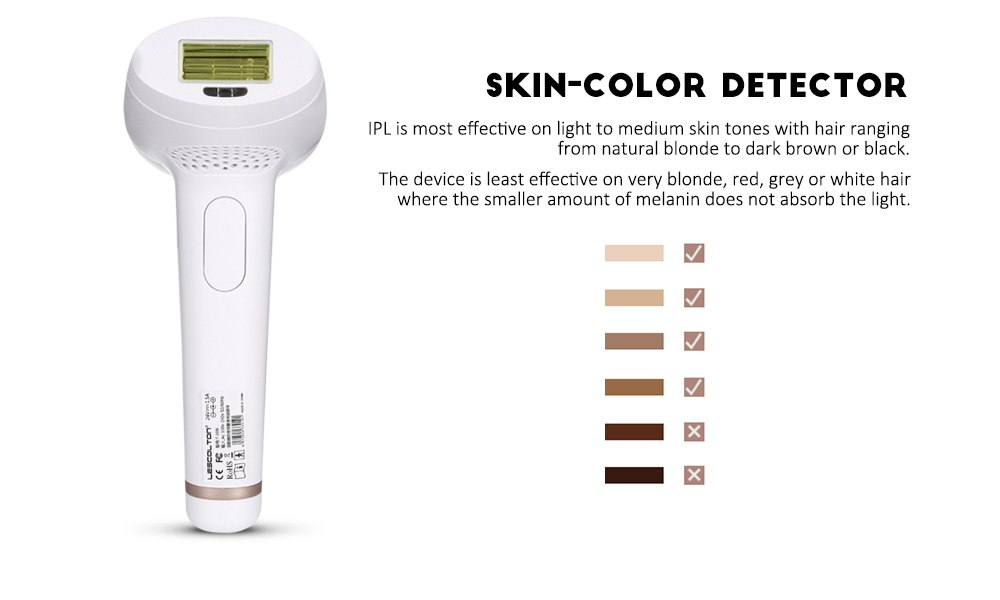 Lescolton 2in1 IPL Laser Hair Removal Machine Permanent Laser Epilator Hair Removal Laser Bikini Trimmer Electric Depilador 10