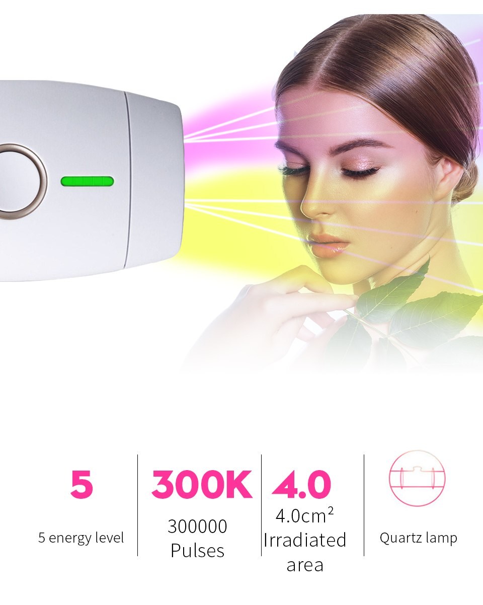 Hair Removal Laser Hair Removal Permanent Thermal Hair Removal Bikini Trimmer Electric Hair Removal Instrument 6