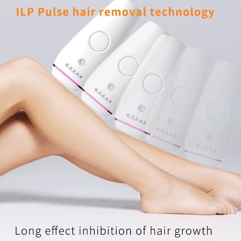 Laser Depilator Permanent Hair Removal IPL Epilator Touch Body Leg Bikini Trimmer Photoepilator For Women 3
