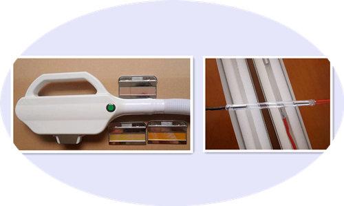 IPL connector for IPL hair removal machine SHR E-light laser handle 2pcs 5