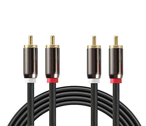 Nextronics 2RCA to 2RCA Dual Stereo Cable/Cord