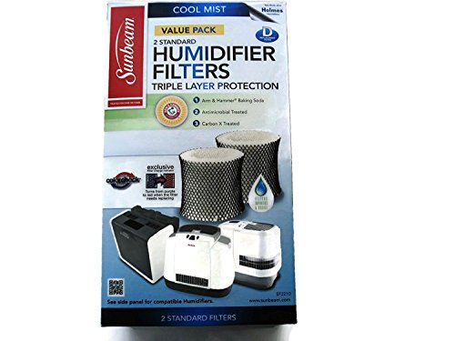 Sunbeam Humidifier filter with Color Check