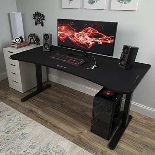 """RESPAWN 63"""" Table Mouse Pad, Gaming Computer Desk, in Black (RSP-1063-BLK)"""