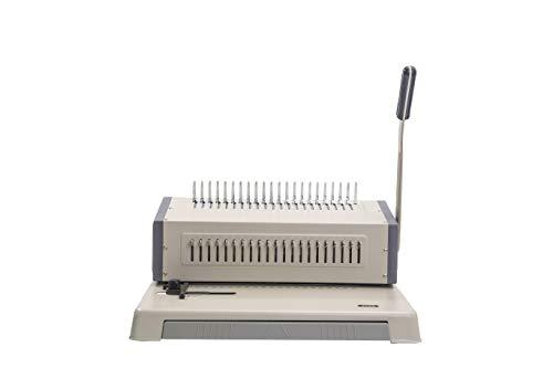 21 Hole Metal Binding Machine Comb Binding Manual Punch and Bind Operation