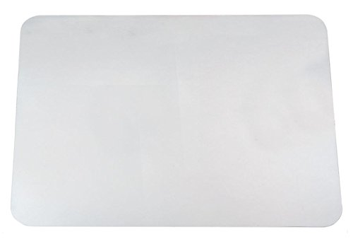 Office Depot Desk Pad with Microban(R), 19in. x 24in, Clear, 60-4-0M-OD