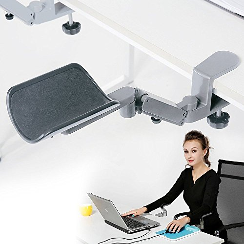 Rotating Computer Arm Rest Support Office Chair