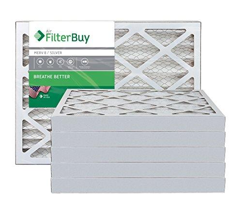 FilterBuy 12x20x2 MERV 8 Pleated AC Furnace Air Filter