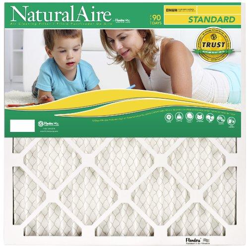 NaturalAire Standard Air Filter, MERV 8, 22 x 22, 1-inch, 12-Pack