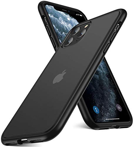 Humixx Shockproof Series iPhone 11 Pro Case, [Military Grade Drop Tested] [2nd Generation] Translucent Matte Case with Soft Edges, Shockproof and Anti-Drop Protection Case Designed for iPhone 11 Pro
