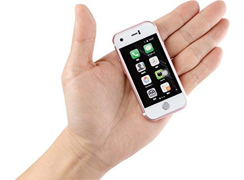 "Mini Smartphone iLight 7s, World's Smallest 7Plus Android Mobile Phone, Super Small Tiny Micro 2.4"" Touch Screen Global Unlocked Great for Kids Tiny iPhone Look Alike"