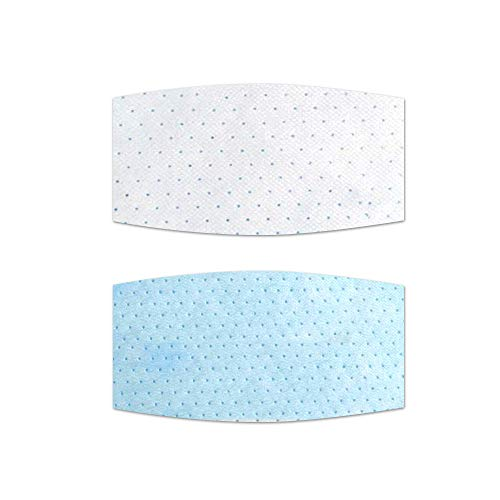 10 Pack Disposable Face Masks Gasket, 3 Ply Breathable and Comfortable for Air Pollution (Rectangle)