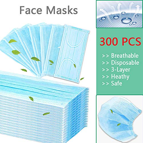Kriszon Professional Disposable Masks Strong Protection Masks Disposable Face Masks Thick 3-Ply Cotton Filter Mask Breathable and Comfortable for Air Pollution