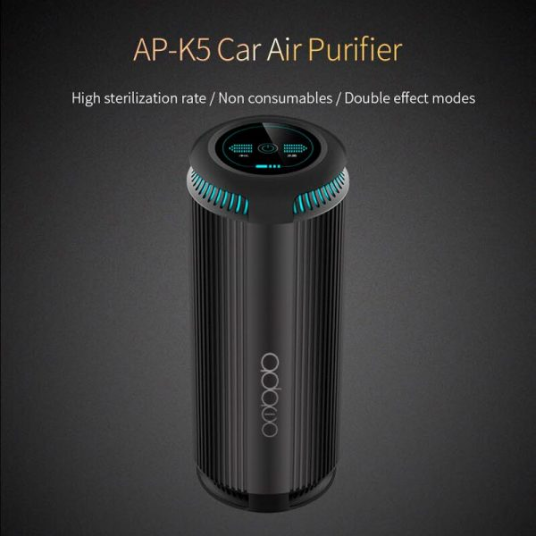 Car Air Purifier with Negative Ion Filter Fresh Portable USB