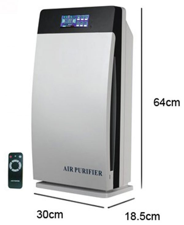 Workplace Air Purifier Hepa, Activated, Carbon, Ozone